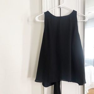 Zara Tank Top Open Back